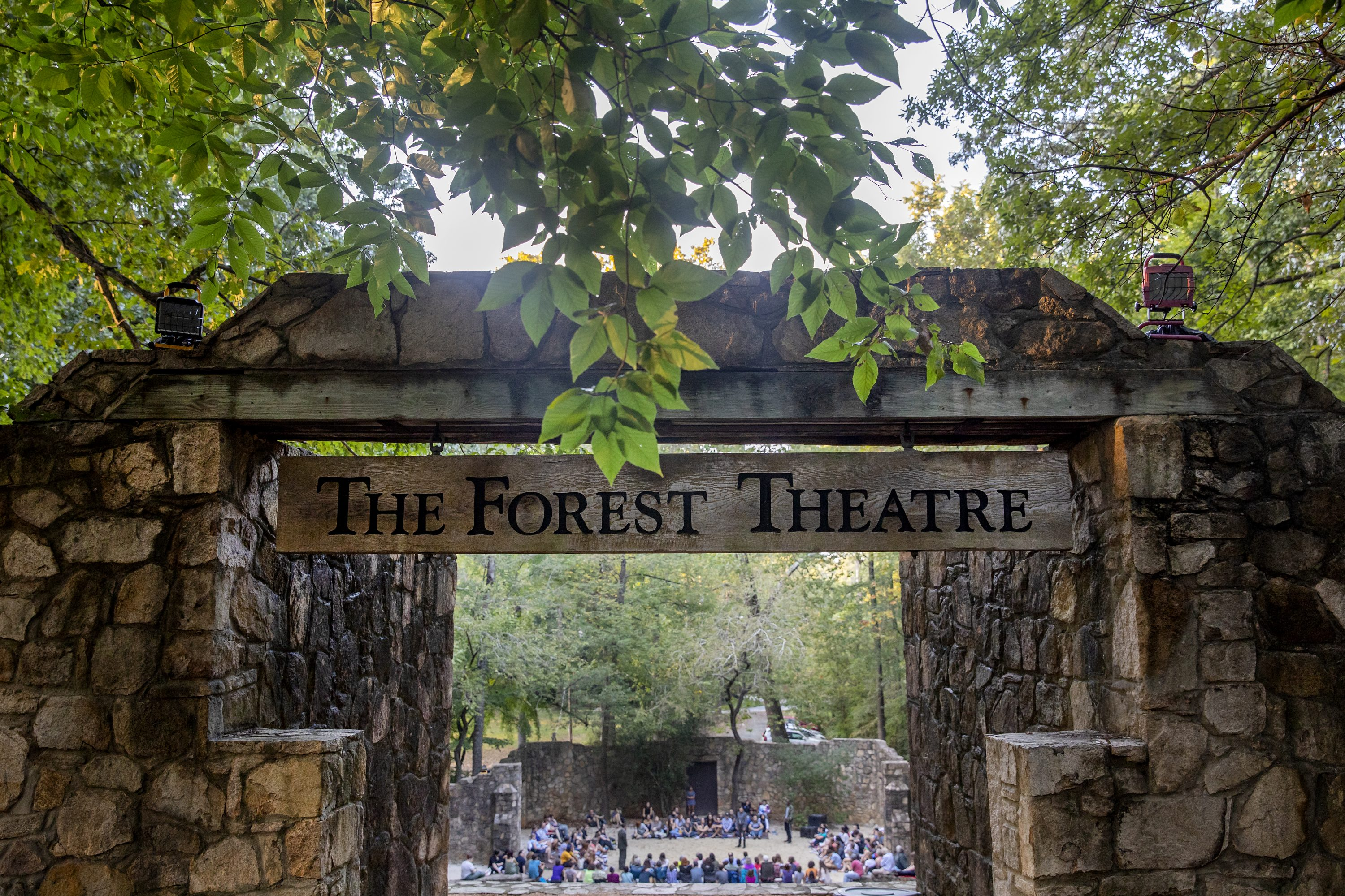 entrance to Forest Theatre