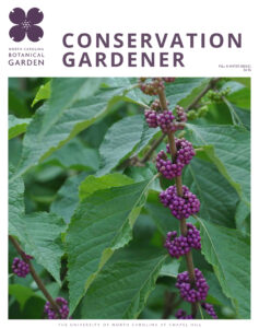 cover of the Fall & Winter 2020/21 Conservation Gardener magazine