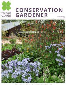 Cover of Spring 2021 Conservation Gardener magazine