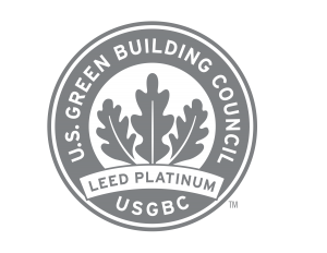 US Green Building Council LEED Platinum graphic