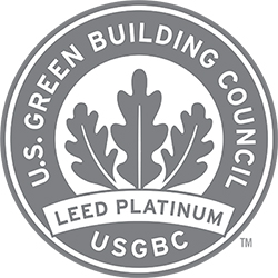 U.S. Green Building Council Leed Platinum logo
