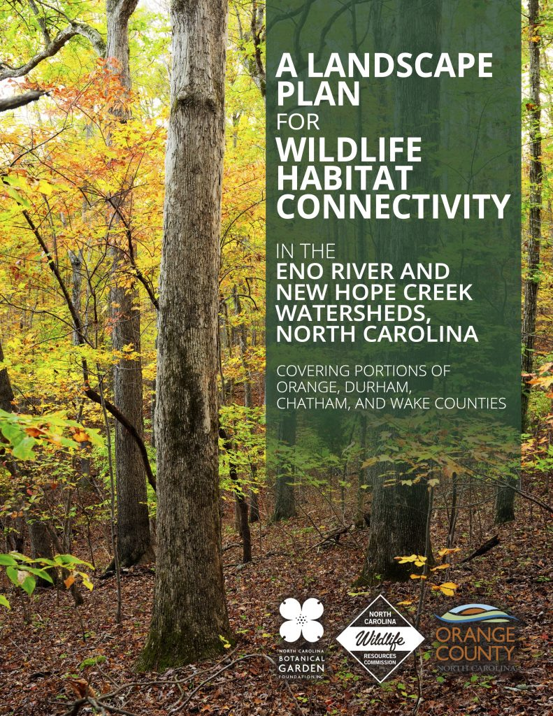 Cover of the Landscape Plan for Wildlife Habitat Connectivity