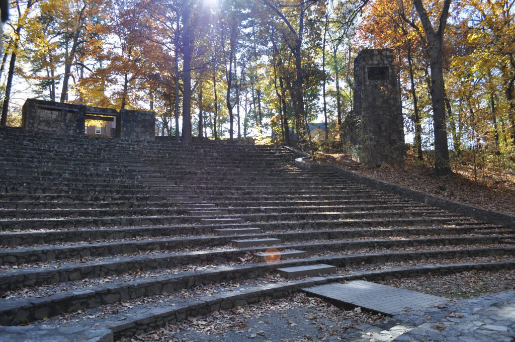 Forest Theatre, a stone amphitheater on the UNC campus