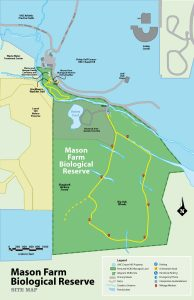 Mason Farm Biological Reserve map