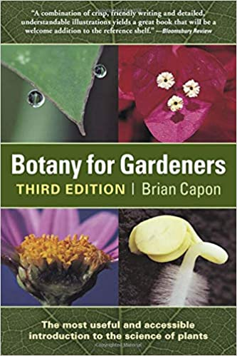 Botany for Gardeners book cover