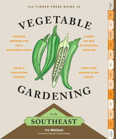 Vegetable Gardening in the Southeast book cover