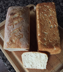 finished bread, loaves 5 and 6